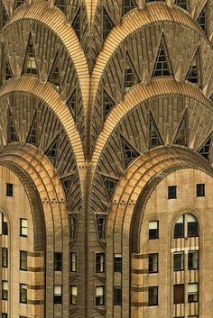 Chrysler Building, Art Deco Skyscraper, New York ....