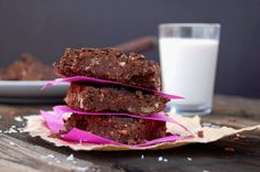 Rich Cacao Almond Brownies (Gluten Free) + The Top Nine Most Crappy Processed Foods