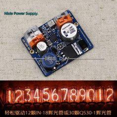 NCH6100HV High Voltage DC Power Supply Module For Nixie Tube Glow Tube Magic Eye dc 12V 24V to 85-235V