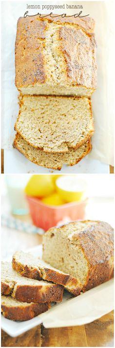 Lemon Poppyseed Banana Bread | www.somethingswanky.com