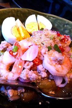 レシピとお料理がひらめくSnapDish - 9件のもぐもぐ - spicy thai prawn salad by willz