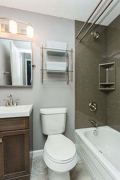 Small Bathroom By More For Less Remodeling St. Louis, MO