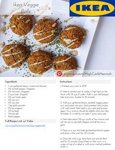Ikea Veggie Balls - Vegan & Oil-Free