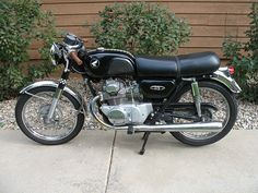 Motorcycle, Oldtimer, Honda CB175