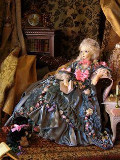 ...wow, Madame de Pompadour, nice work...