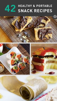 Snack time CAN be healthy, tasty, and hassle-free. #healthy #snacks #recipes