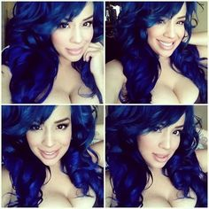 pravana hair color chart: 29 blue hair color ideas for daring women blue hair pravana
