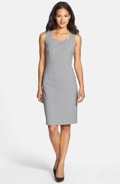 Classiques Entier Grey Sheath dress (slightly different neckline)