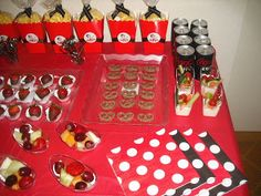 """Betty's 50th """"Betty Boop"""" Dessert Party 