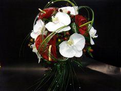 Bouquet rond, Mariage, fleuriste Cagnes sur Mer