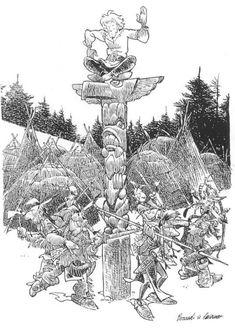 Ken Parker, Le Far West, Illustrations, Comics, Artist, Beautiful Drawings, Illustration, Artists, Cartoons