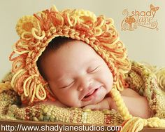 Lion Hat / Bonnet - $3.75 by Christins from My Sweet Potato 3