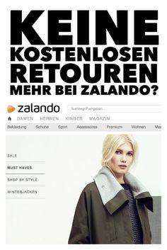 Keine kostenlosen Retouren mehr bei Zalando?