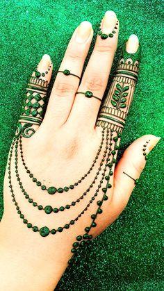 Modern Henna Designs, Henna Art Designs, Mehndi Designs For Beginners, New Bridal Mehndi Designs, Arabic Mehndi Designs, Mehndi Designs For Hands, Mehandi Designs, Unique Henna, Mehndi Simple