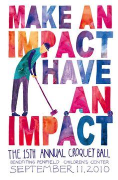 """""""make an impact, have an impact"""""""