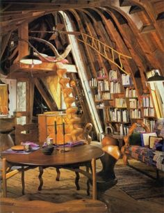 Heaven, aka a cabin in the woods just for reading !!