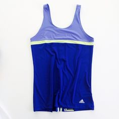 [Adidas] workout tank Adidas Climalite workout tank top. Size M. Never worn, new without tags. Adidas Tops Tank Tops