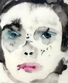 Image result for marlene dumas watercolors
