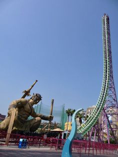 Big Air  E-DA #ThemePark #Taiwan #rollercoaster