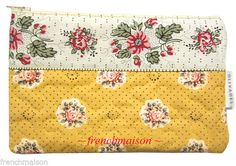 Les Olivades French-Made Country Real Provence Floral Quilted Purse/Wallet New #LesOlivades