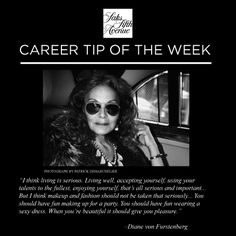 Saks Career #Inspiration, #DVF #CareersatSaks