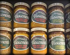 Tracklements mustards #Tracklements #Mustard #Show