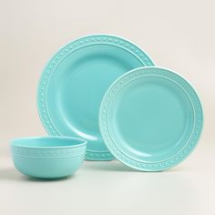 I like this color to go with the kitchen Mainstays 16-Piece Round ...