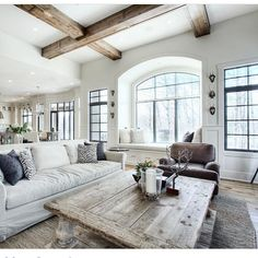 Such a cozy family room by @verandainterior