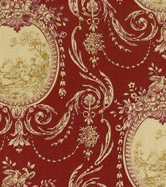 $14.99 Home Decor Print Fabric-SMC Designs Etienne Garnet: home decor fabric: fabric: Shop | Joann.com