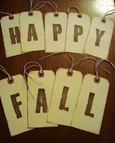 happy fall & boo-to-you shabby tag banners