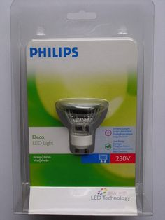 Philips LED Reflektor Strahler Lampe Deco Grün 18 LED`s  GU10  1 Watt Dekoration