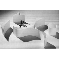 Modern architecture for Today Concept Models Architecture, Modern Architecture Design, Pavilion Architecture, Landscape Architecture, Interior Architecture, Landscape Design, Architecture Facts, Geometry Architecture, Paper Architecture