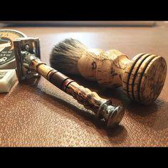 Custom Tamarind Shaving Sets by Every Knight Forge #EveryKnightForge #MensGifts…