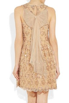 Red Valentino - sequined and beaded lace and tulle.   Feminine and fabulous.