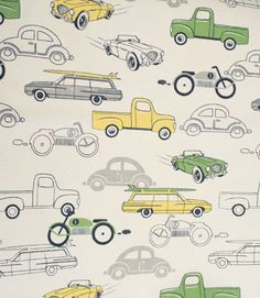 Vintage Vehicles, Grass