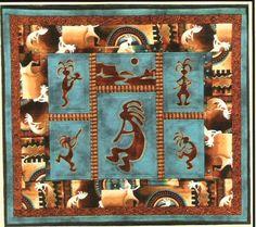 El Oso Applique Pattern - J. Michelle Watts   Quilts to make and ... : kokopelli quilt pattern - Adamdwight.com
