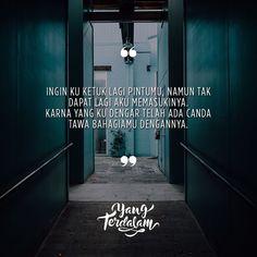 Tak lagi ada ruang kosong untukku disana. . Kiriman dari @palingga_ms .  #Berbagirasa  #yangterdalam #quote #poetry #poet #poem #puisi #sajak