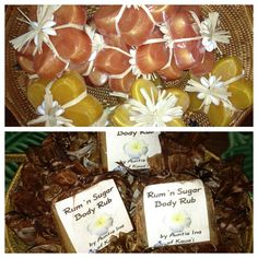 Mai Tai and Rum Punch Soap and Rum Sugar Scrub on sale at eCompany Store
