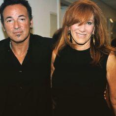 Bruce Springsteen and Patti Scialfa