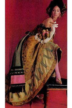 Marisa Berenson by Cecil Beaton, 1966.