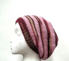 Handmade Beanie Beret Slouch Hat wool size by CaboDesigns on Etsy, $26.00