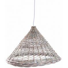 Lámpara de mimbre natural #decoración Mon Deco Shop #homedecor #design #diseño