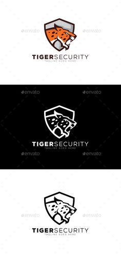Buy Tiger Security Logo by Armeonit on GraphicRiver. Files Included: Logos are vector based built in Illustrator software. They are fully editable and scalable without lo. Logo Design Template, Logo Templates, Cheap Logo, Security Logo, Portfolio Logo, Ai Illustrator, Branding, Best Logo Design, Free Logo