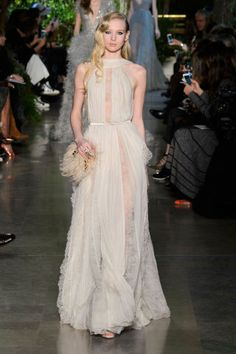 Elie Saab Spring 2015.  See the best looks from Couture Week here: