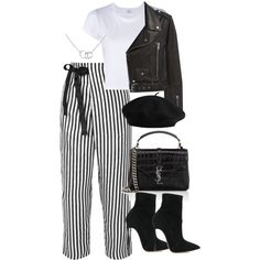 Untitled #5386 by theeuropeancloset on Polyvore featuring polyvore, fashion, style, RE/DONE, MANGO, J.Crew, Casadei, Yves Saint Laurent, Cartier and clothing