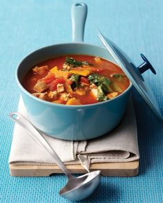 Chunky Turkey-Vegetable Soup