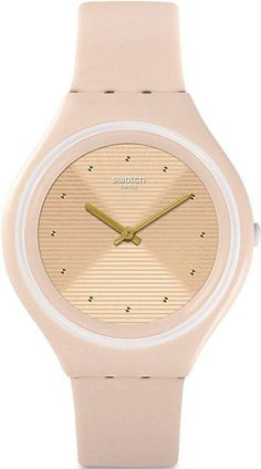 Features: Plastic Case Silicon Strap Quartz Movement Plastic Crystal Champagne Textured Dial Analog Display Pull/Push Crown Solid Case Back Buckle Clasp Water Resistance Approximate Case Diameter: Approximate Case Thickness: Crystal Champagne, Online Watch Store, Gold Watch, Swatch, Quartz, Perfume, Unisex, Plastic Case, Crown