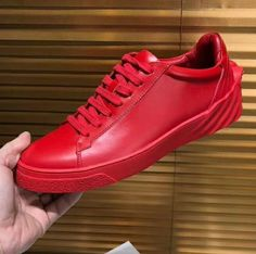 44169c8afcd Discount Versace Sculpted Medusa Leather Sneakers fast shipping with good  service