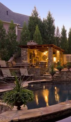 Outdoor space for relaxing and entertaining ~ So perfect