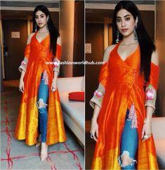 Janhvi Kapoor in Manish Malhotra | Fashionworldhub